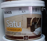 Защитное средство для сауны Satu Saunasuoja Teknos Сату Саунасуоя, 0.9л