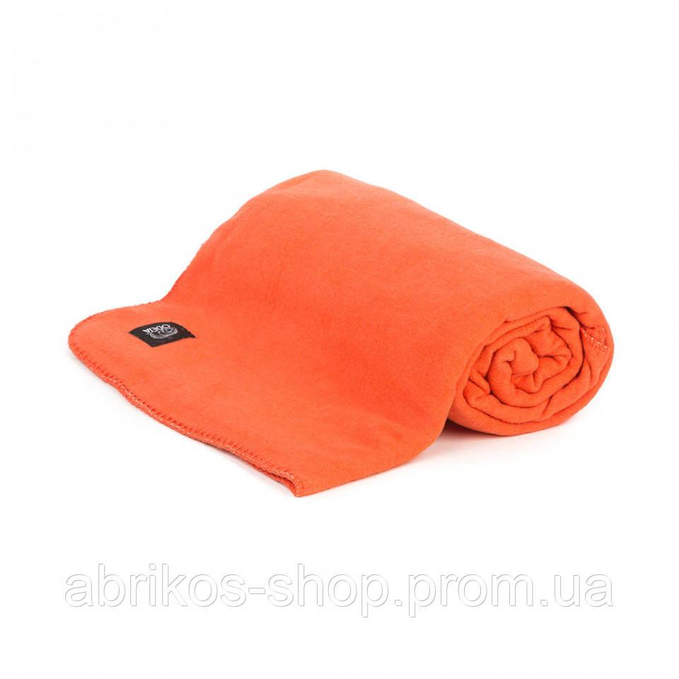 Хлопковый  полуторный  оранжевый плед DOMUS (Словения)