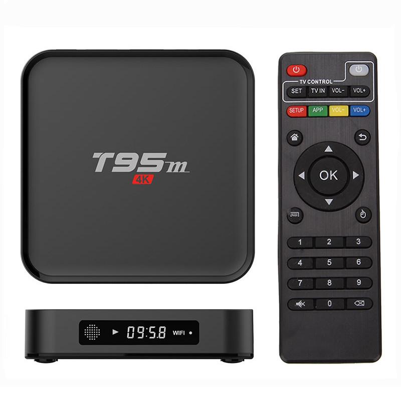 SMART TV Box Sunwell T95M Amlogic S905X Android 6.0 TV Box Смарт ТВ приставка, 1Gb RAM, 8Gb ROM