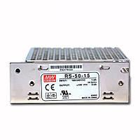 Блок питания RS-50-15 MeanWell