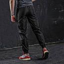 Штаны спортивные мужские черные c бежевым от бренд ТУР модель Джокер (Joker). Размер S, M, L, XL, фото 3