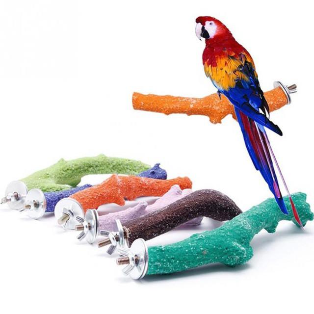 Мінеральні жердочки для папуг і птахів
