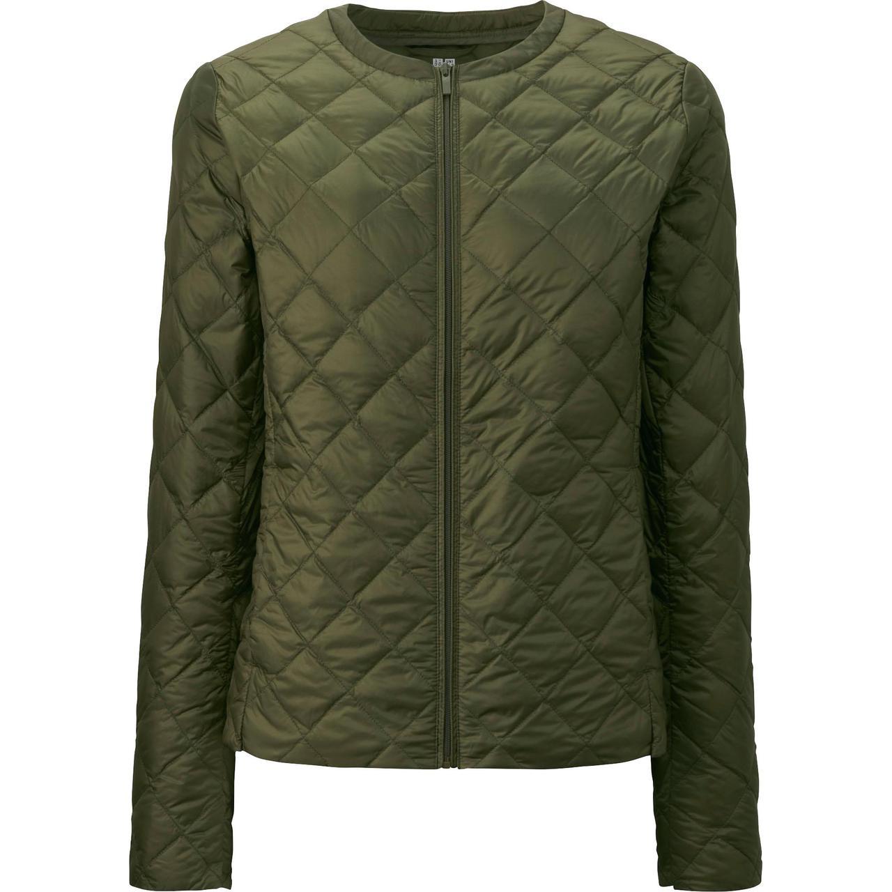 Куртка Uniqlo Women Ultra Light Down Compact OLIVE