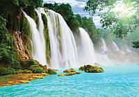 Фотообои 3D Водопад (368x254, 312х219, флизелин, бумага) Как в Раю (10386CN)
