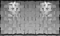 Фотообои 3D фигуры 368x254 см Черно-белые кубики (3169.20672)