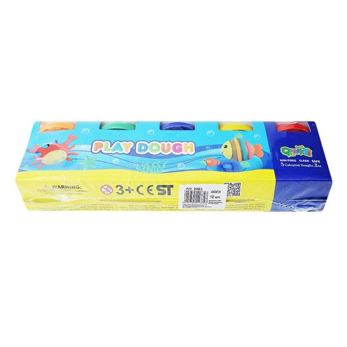 Тісто для ліплення Play Dough 5 кольорів по 55 грам ООПТ 2083