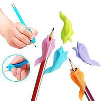"""Насадка на ручку """"Рыбка"""" Zibi ZB.5474 для правильного письма"""