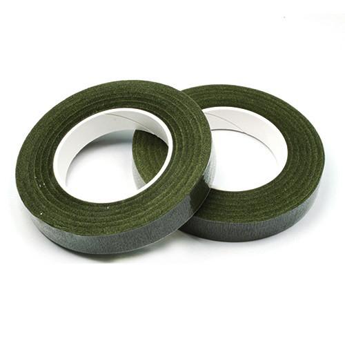Тейп-лента 12 мм 30 ярдов зеленая