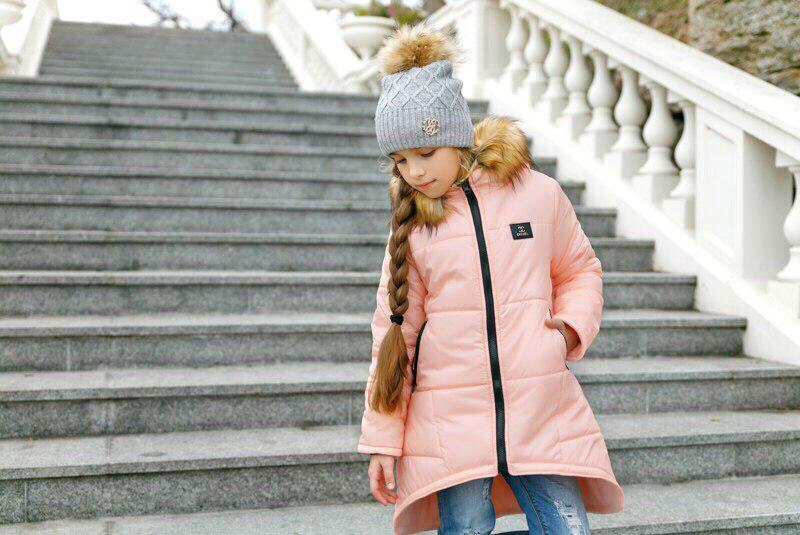 Куртка LiLove 203-1 134 розовый