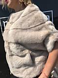 Норковий світлий светр, фото 2