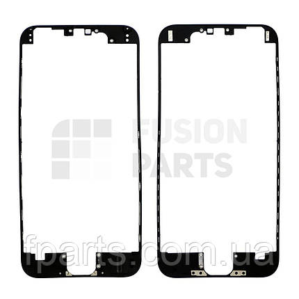 Рамка дисплея iPhone 6 с термоклеем (Black), фото 2
