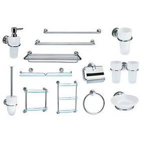 Аксесуары для ванной и туалета