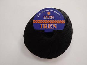 Пряжа Ирен, черный