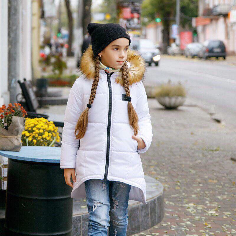 Куртка LiLove 203-2 140 белый