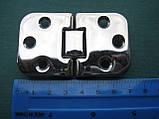 Нержавіюча петля кулачкова 70х42х2 мм, фото 2