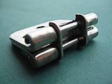 Нержавіюча петля кулачкова 70х42х2 мм, фото 5