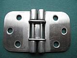 Нержавіюча петля кулачкова 70х42х2 мм, фото 8