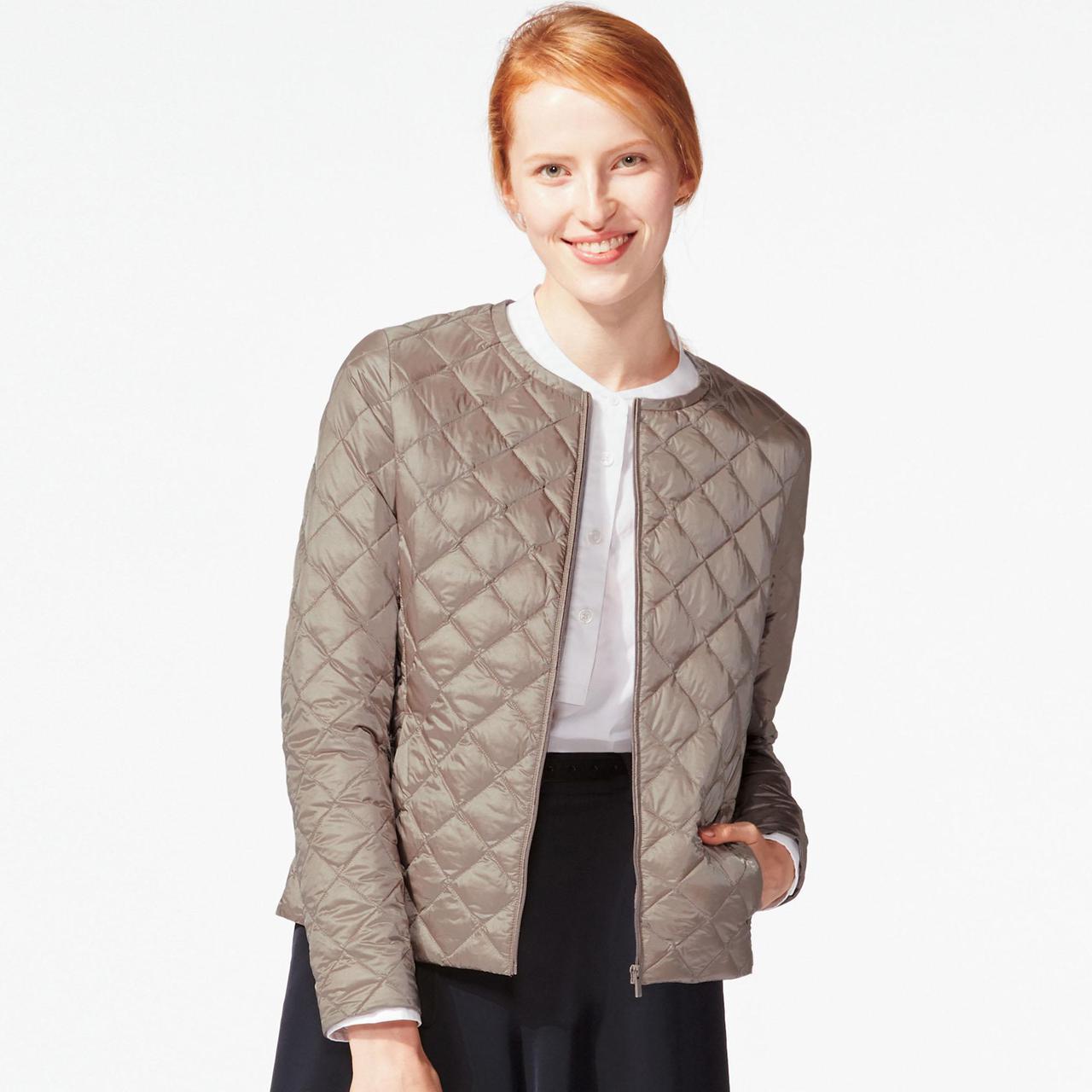 Куртка Uniqlo Women Ultra Light Down Compact BIEGE