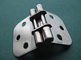 Нержавіюча петля кулачкова 70х42х2 мм, фото 9