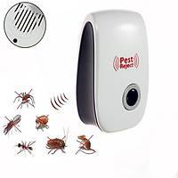 Відлякувач комах і гризунів Pest Reject NEW (ЕМ хвилі + ультразвук), фото 1