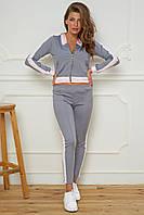 Женский спортивный кюстюм(серый,розовый,пудровый,черный)