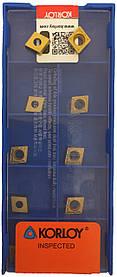 Пластина KORLOY  CCMT 060204-HMP NC3030