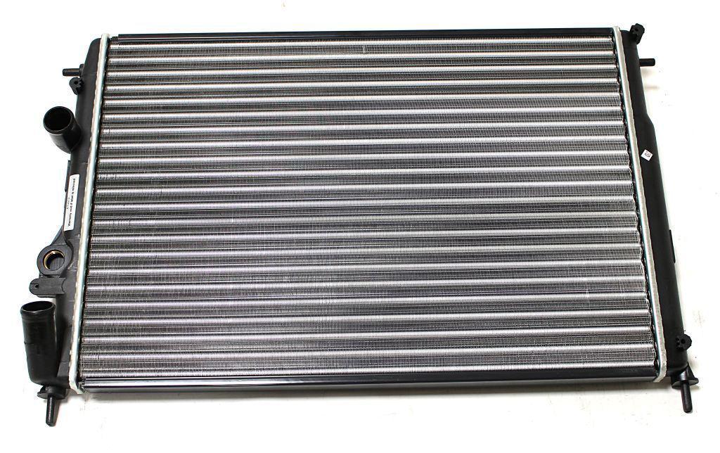 Радиатор охлаждения Dacia Logan 2005- (1.5DCI) 585*415мм по сотах KEMP