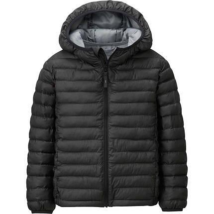 Куртка Uniqlo Kids Light Warm Padded BLACK, фото 2
