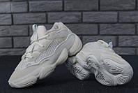 """Женские кроссовки Adidas Yeezy 500 Blush """"Белые"""" адидас изи"""