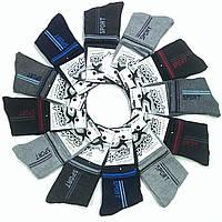 Носки женские, подросток демисезонные х/б бамбук BFL Sport, B355, 23-25 размер, ассорти, 26355