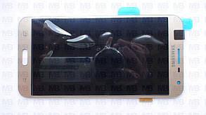 Дисплей с сенсором Samsung J701 Galaxy J7 Neo золотистый/gold, GH97-20904B, фото 2