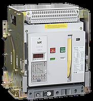Выключатель автоматический ВА07-М комбинированный расцепитель выдвижной 3Р 1600А Icu=80кА IEK