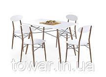 Комплект стол и кресла RECORD prostokąt Halmar