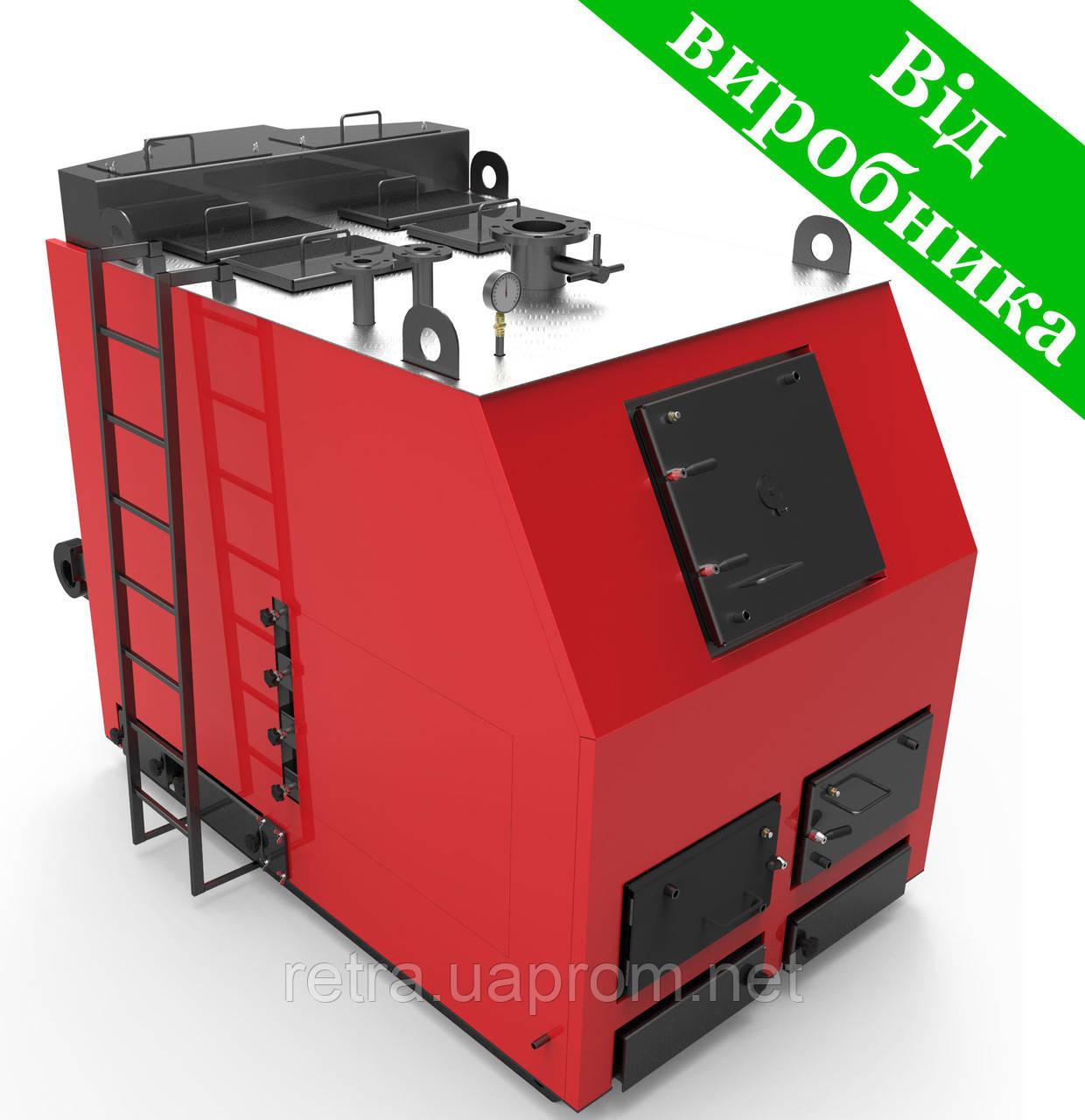 Котел твердотопливный Ретра-3М 500 кВ промышленный длительного горения