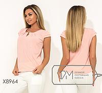 655356e7672 Летняя блуза батал от ТМ Фабрика Моды прямой поставщик Одесса официальный  сайт р. 48-