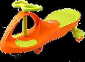 Детская инерционная машинка Happy Car PREMIUM Orange/Green ОРИГИНАЛ