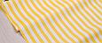 Сатин (бавовняна тканина) жовта смужка велика, фото 2