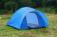 Палатка туристическая трехместная Gemin 102403: размер 1,8х2,0х1,2м