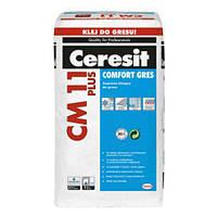 """СM-11 Plus """"Ceresit"""" Клей для плитки усиленной фиксации """"CERAMIC & GRES"""",25 кг"""