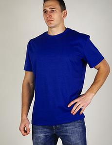 Мужская футболка Атлет синяя 000154