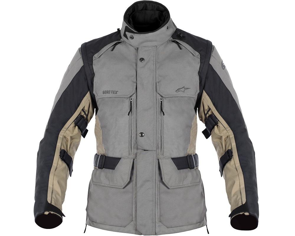 "Куртка Alpinestars DURBAN GTX текстиль grey\black\sand ""56"""