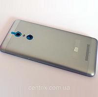Задняя крышка для Xiaomi Redmi Note 3 Pro Special Edition, серая, оригинал
