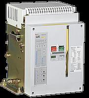 Выключатель автоматический ВА07-М комбинированный расцепитель стационарный 3Р 800А Icu=42кА IEK (SAB-1000-KRS-3P-800A-42)
