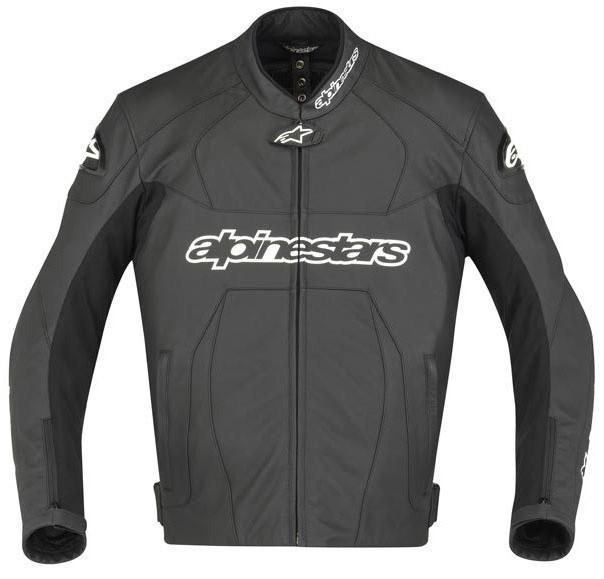 "Куртка Alpinestars GP PLUS black кожа ""56"""