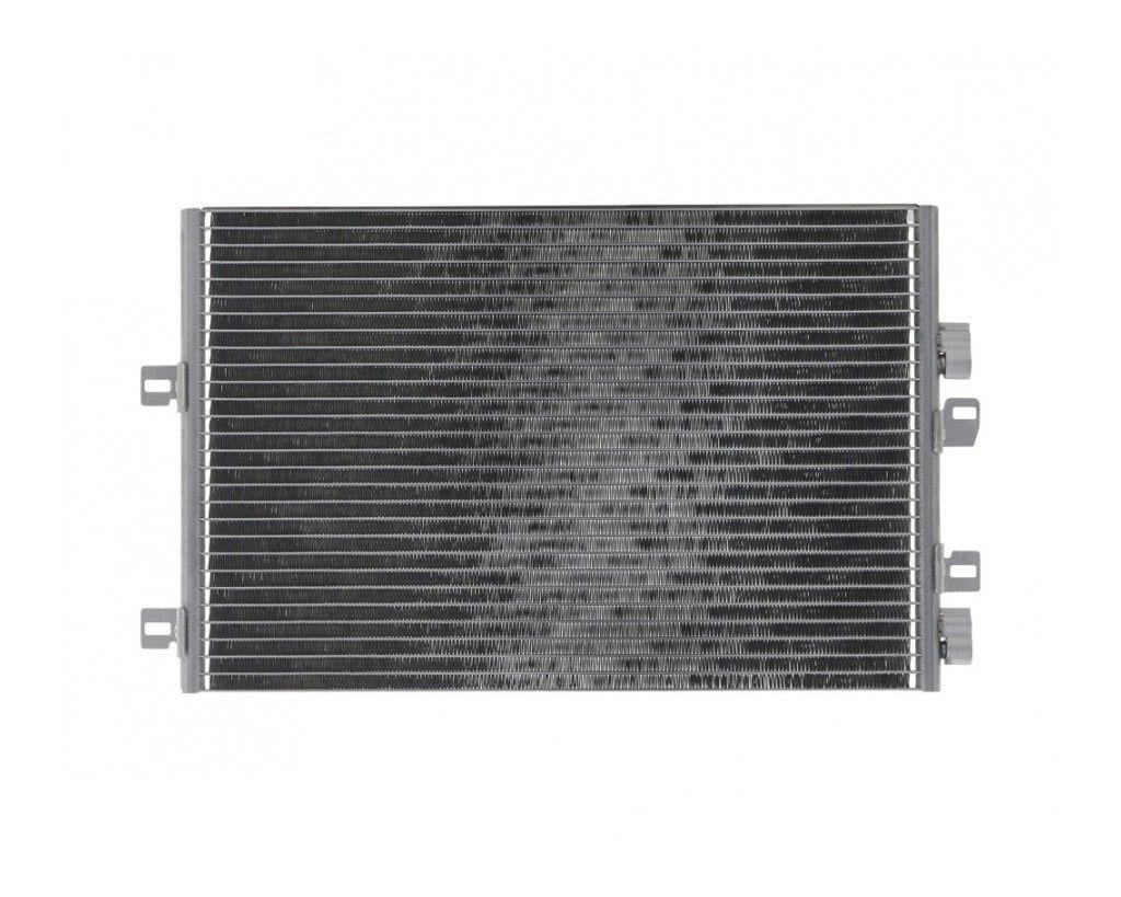 Радиатор кондиционера Nissan Kubistar 2003- (без осушителя) 580*403мм по сотах KEMP