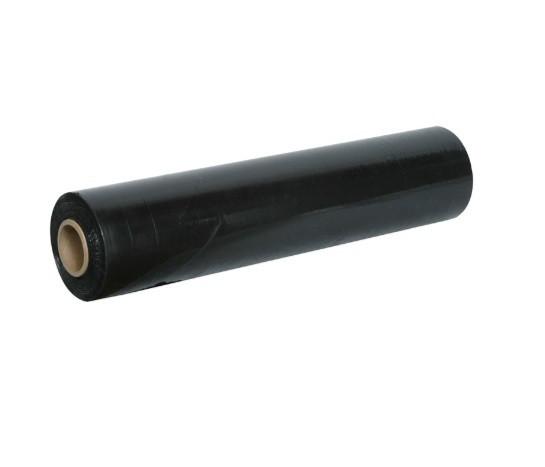 Стрейч пленка 20 мкм - 500 мм × 1,7 кг - черный / 230 м