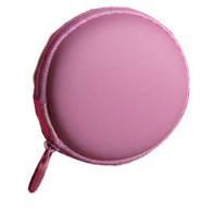 Футляр (чехол) для наушников, розовый