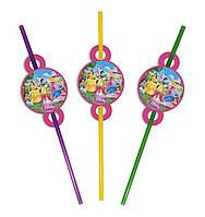 Коктейльные трубочки детские Принцессы Дисней