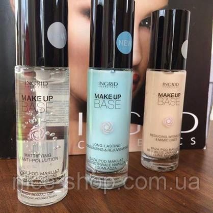 Основа-база под макияж,обезжиренная матирующая - Ingrid Cosmetics Mattifying & Anti-Pollution, фото 3