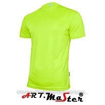 Футболка T-shirt FLUO флуоресцентного желтого цвета ARTMAS